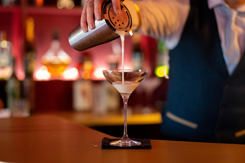 Bar cocktail header